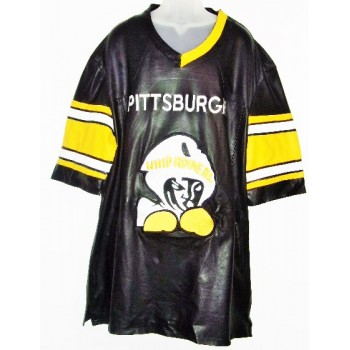 Whip Appeal Pittsburgh  Black Leather Pullover **SALE**