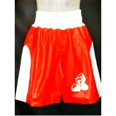 Whip Appeal Red Boxing Shorts