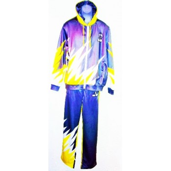Gray Sublimation Suit