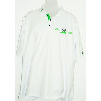 White Sublimation Polo